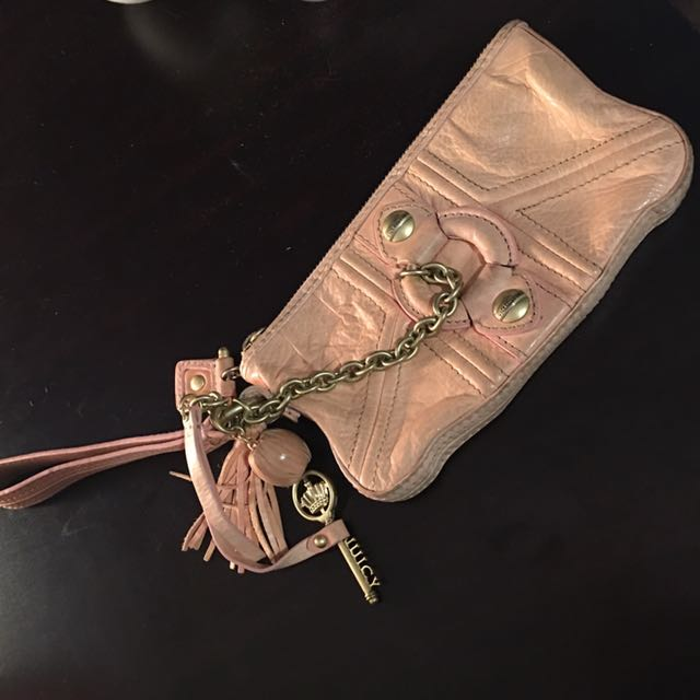 Juicy Couture Wallet, Baby Pink