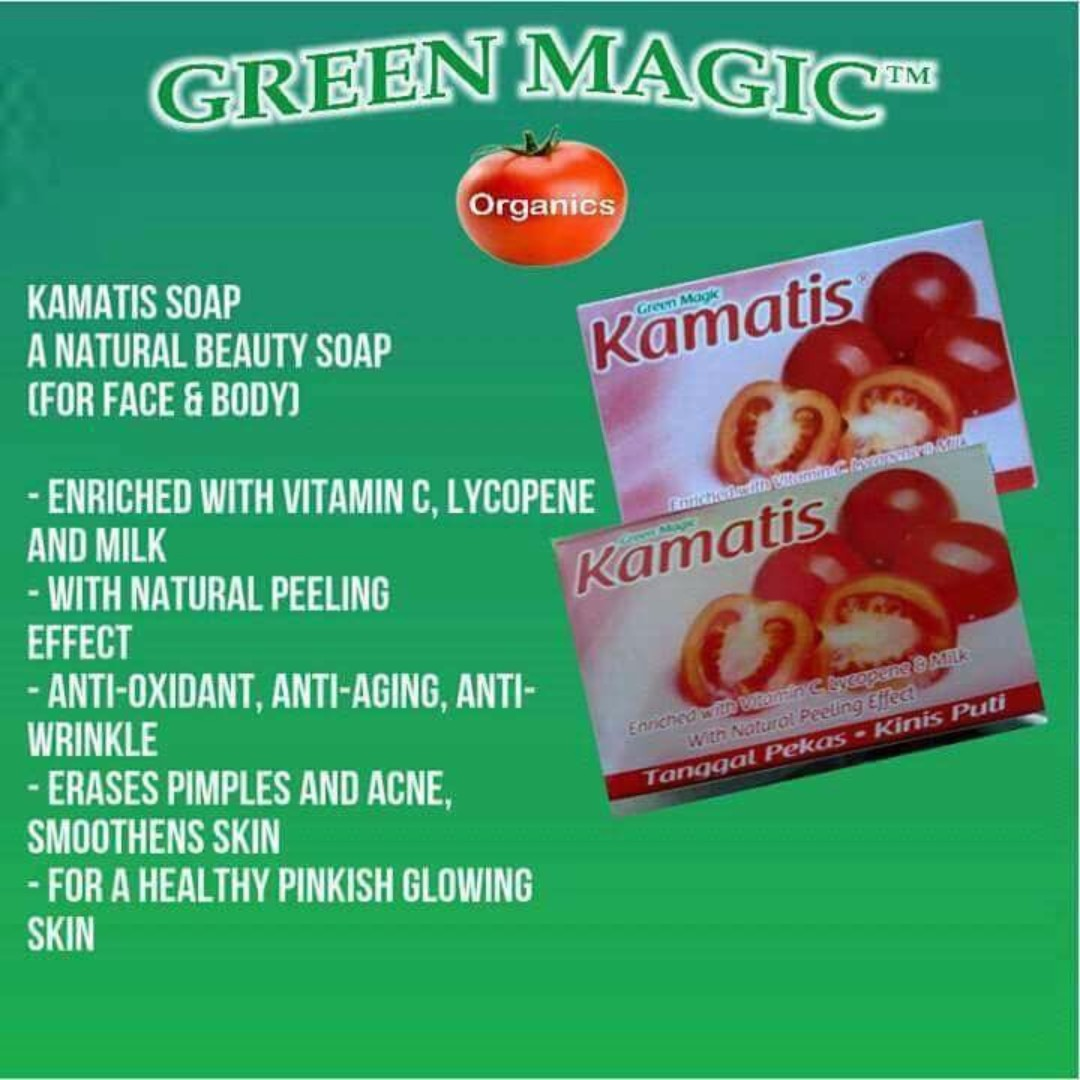 Kamatis Green Magic Soap