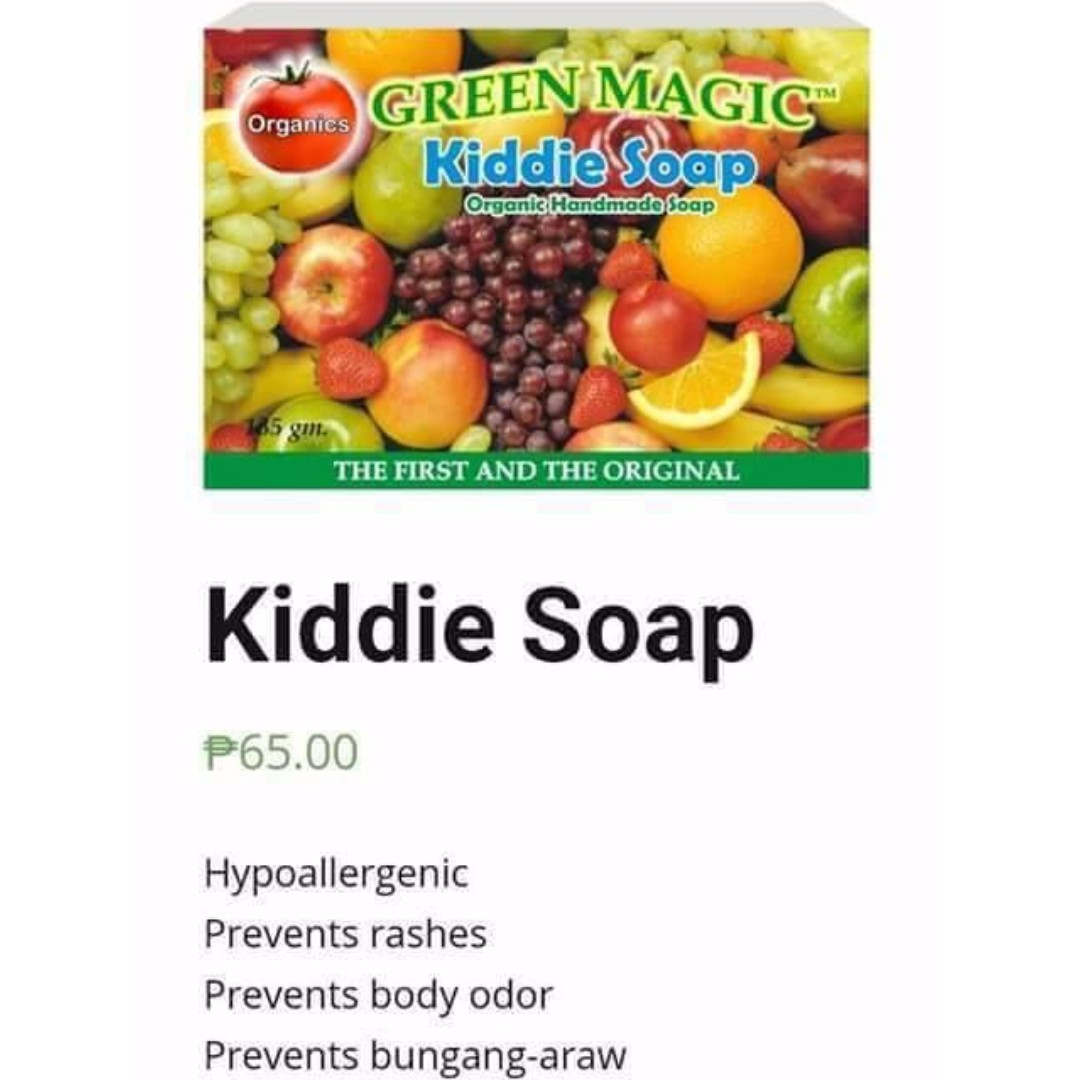 Kiddie Green Magic Soap