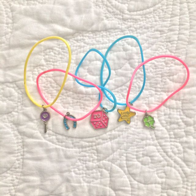 Kids' Total Girl Charm Bracelet Set