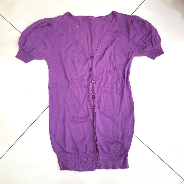 Knit Purple Top