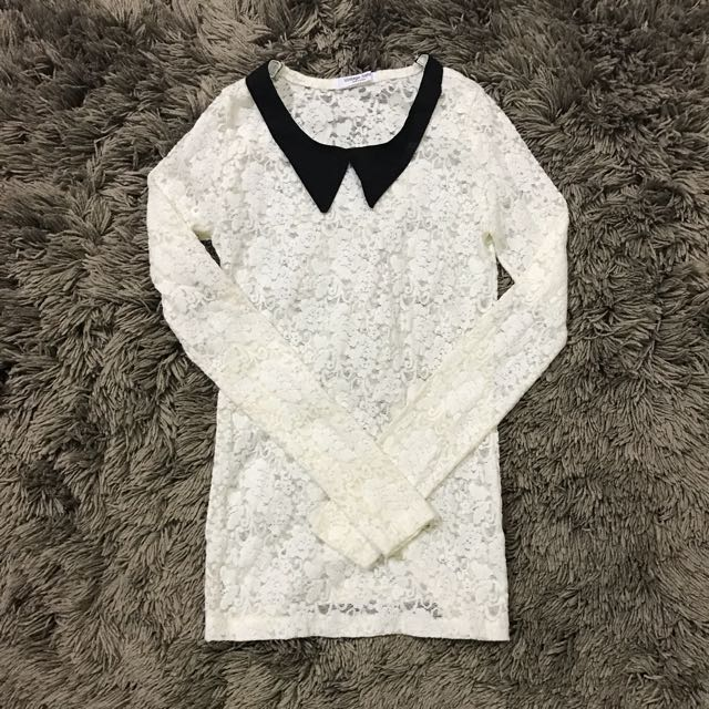 Korean Lace Shirt