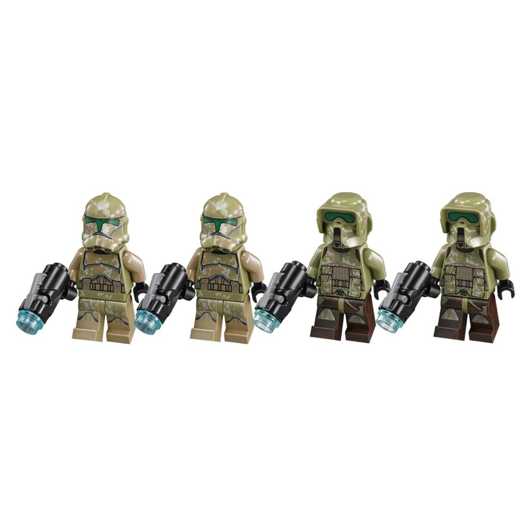 LEGO Kashyyyk Clone Trooper and Clone Commander (Star Wars)