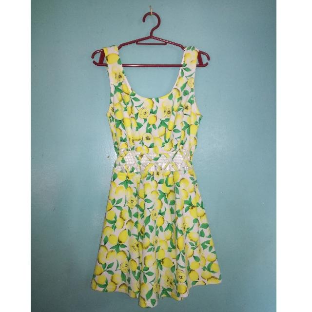 Lemon Sexy Dress