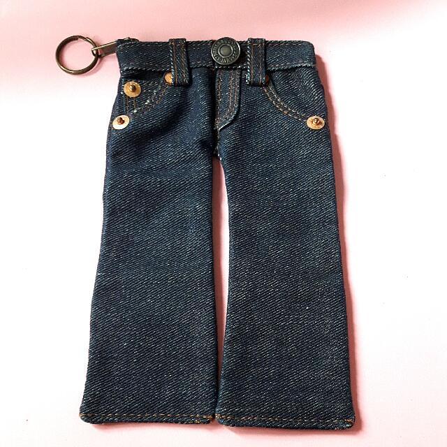 Levi's牛仔褲1:1  筆袋 鑰匙圈 #夏日99出清