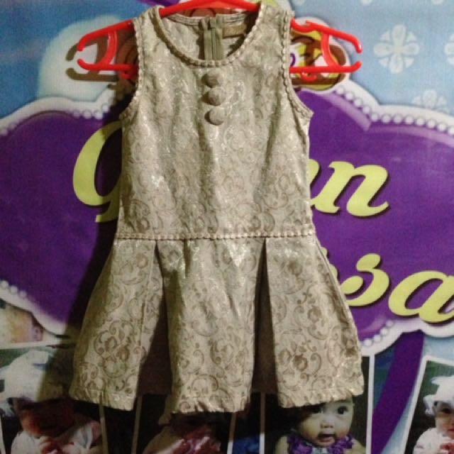 Light Brown Baby Dress