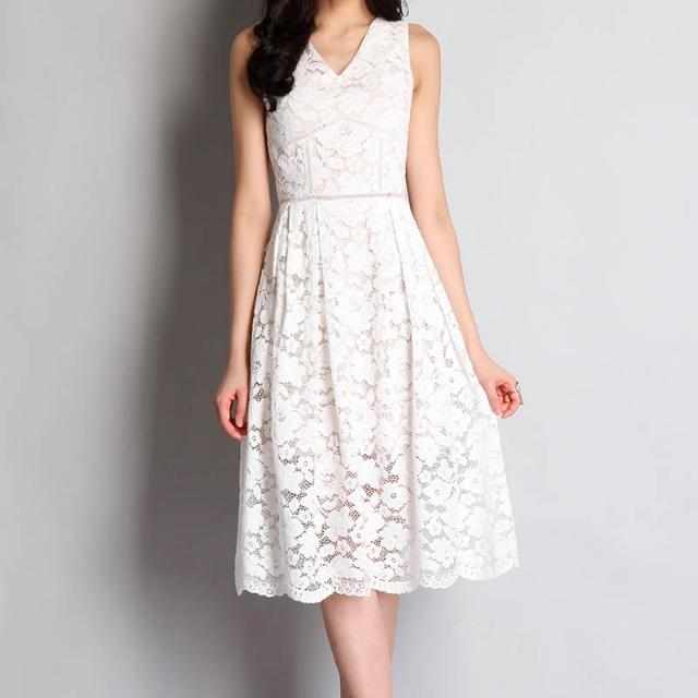 96fb261088e Lilypirates Winter Wonderland Dress In White Lace Size  M