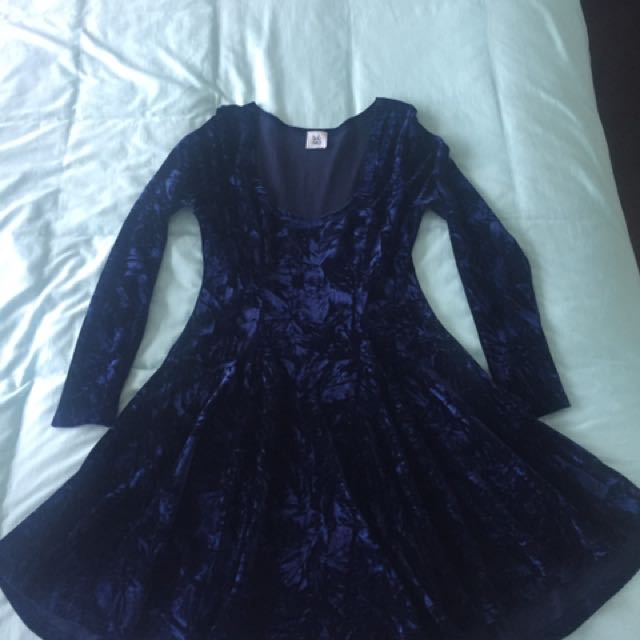 Little one Velvet Dress
