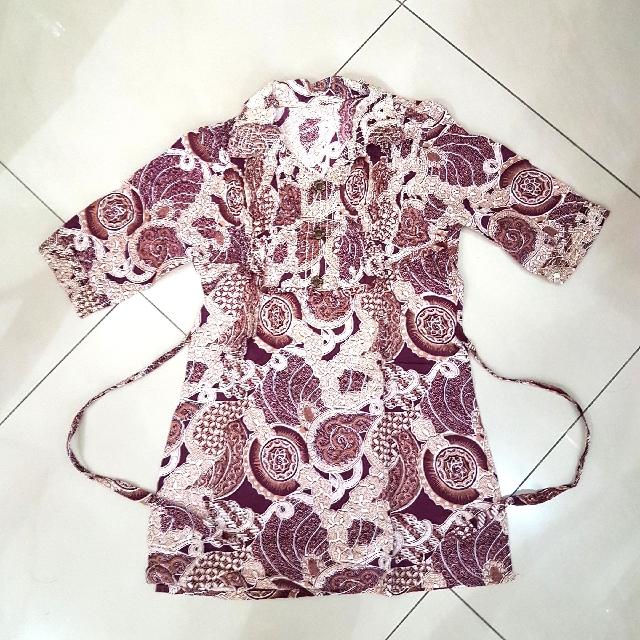 Long Batik Top