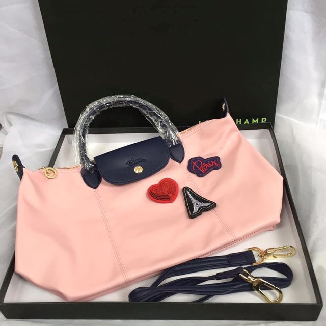 Longchamp Bonbon Cuir Leather, Luxury, Bags   Wallets on Carousell 76d94837b9
