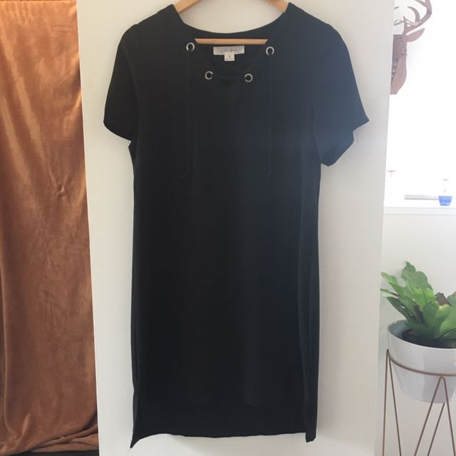 Lulu & Rose Black Shift Dress