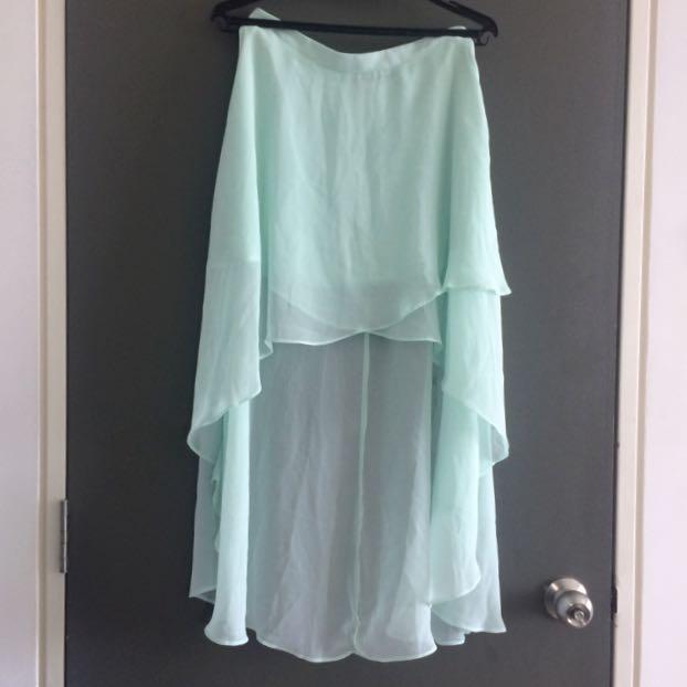 [M] Forever 21 Mint Green Skirt
