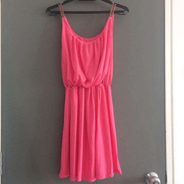[M] Pink Dress