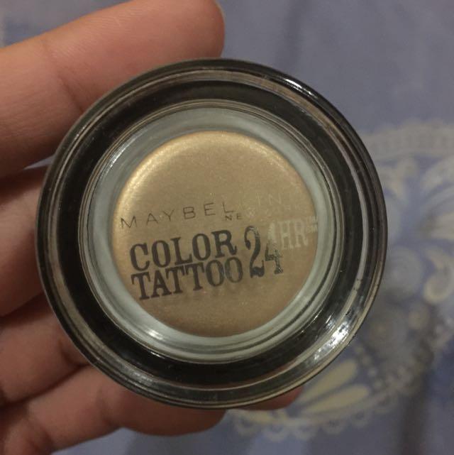 Maybelline eyeshadow creamy
