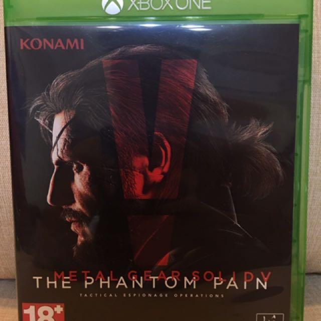 Metal Gear Solid V/Phantom Pain/潛龍諜影5:幻痛/Xbox One