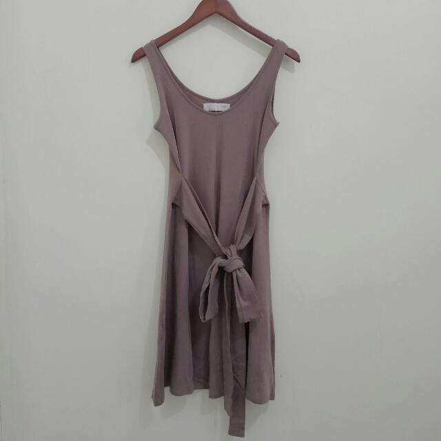 Midi Dress Cotton Ink
