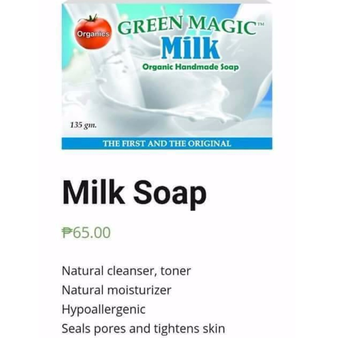 Milk Green Magic Soap