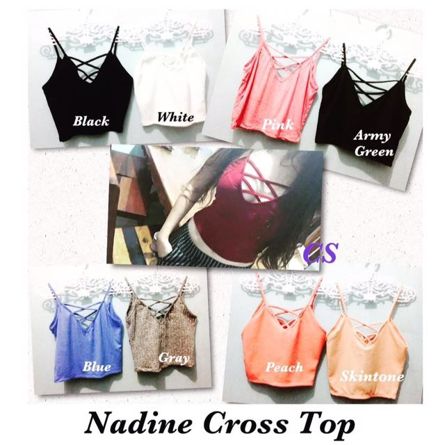👚Nadine Cross Top👚