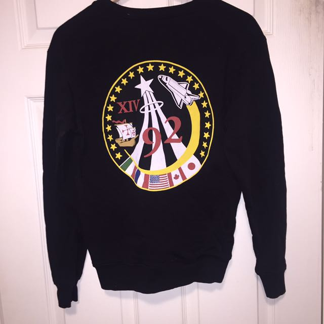 NASA Crew Neck Sweater RARE