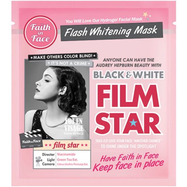 (NEW) Faith In Face Flash Whitening Mask Pack Of 2