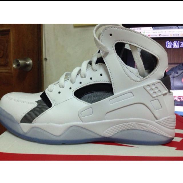Nike Air Huaruche Flight 黑 白 武士 Kobe 忍者鞋