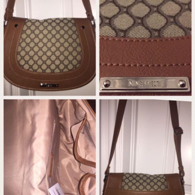 Nine West Light Brown Shoulder Bag