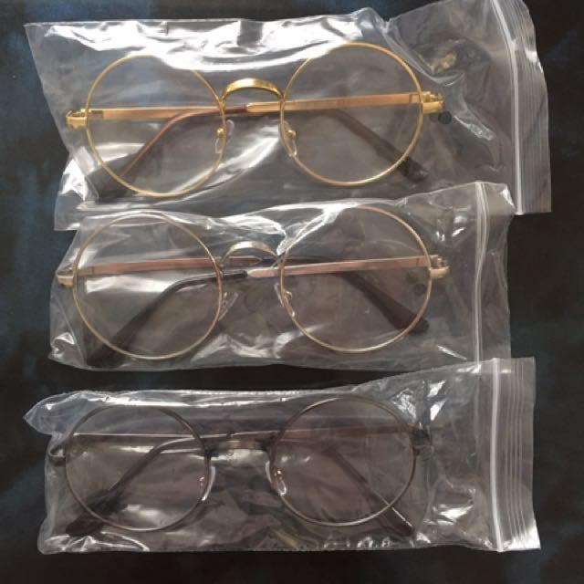 Non Prescript Glasses