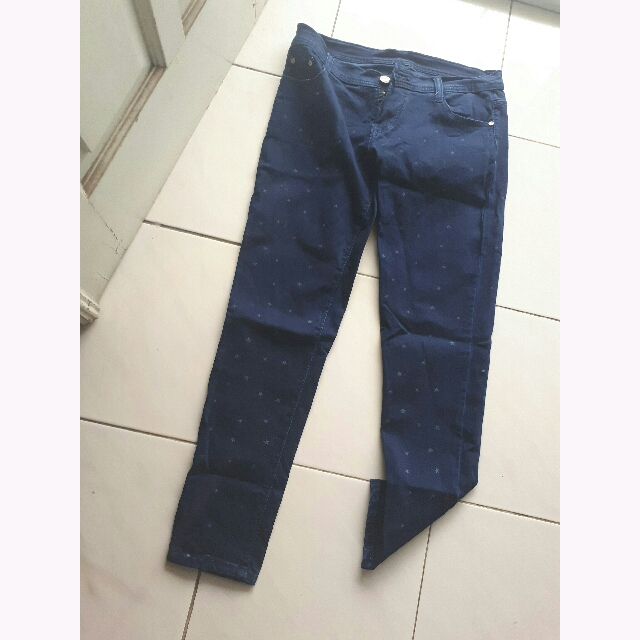 Number 61 Navy Jeans
