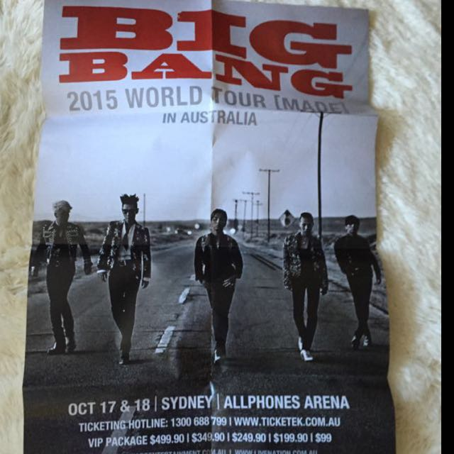 Official Big Bang Made Poster
