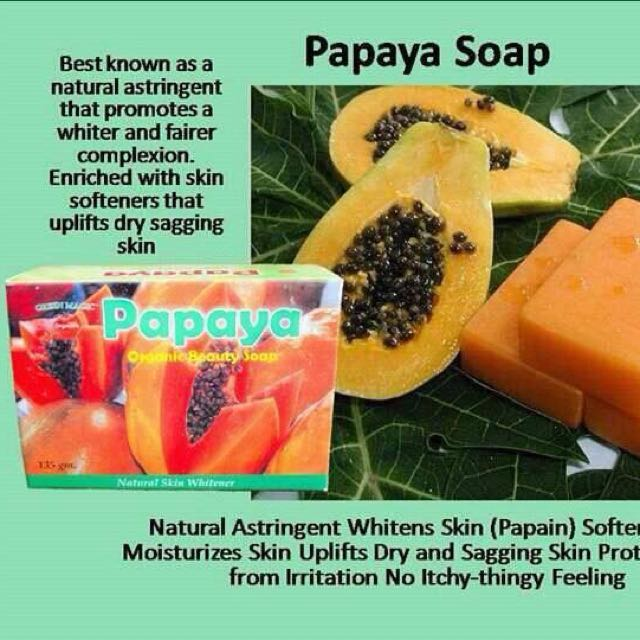 Papaya Green Magic Soap