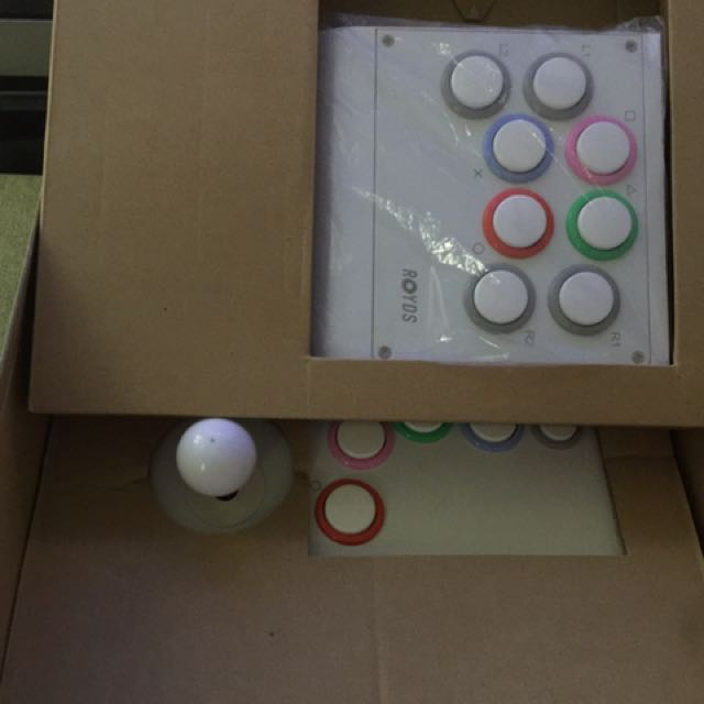 PC/PS3/(PS4 PRO部分遊戲)可用 Joystick 大制 大搖 搖桿 街機制
