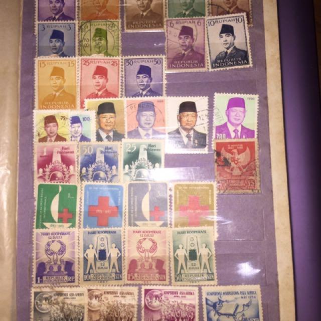 Perangko Kuno (old Stamp) Indonesia