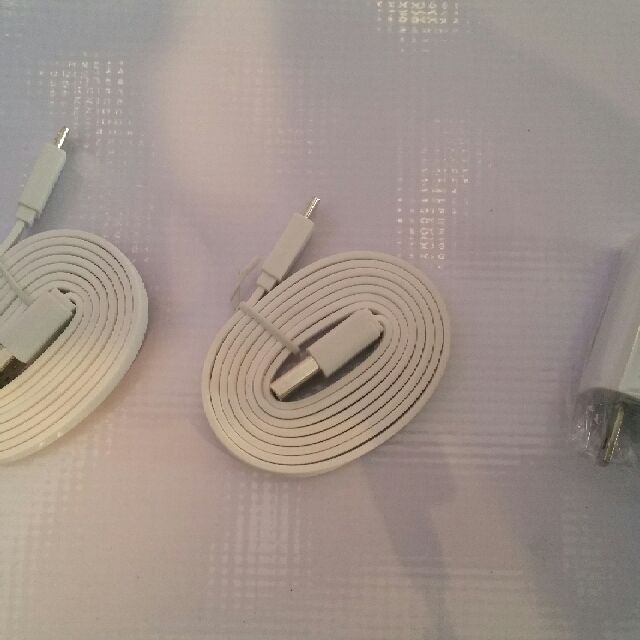 Phone charger coming with 2 cables