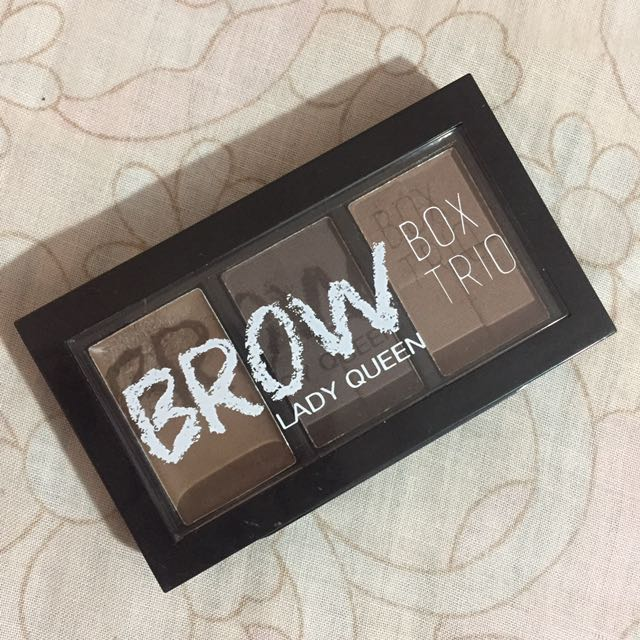 REPRICED ‼️ Lady Queen Brow Box Trio