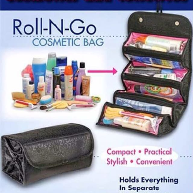 Roll-N-Go Cosmetic Bag