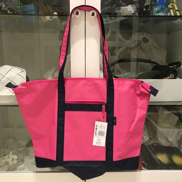 Samsonite Travel bag Pink Uk Besar