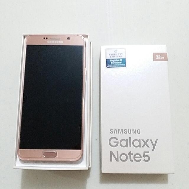 Samsung Galaxy Note 5 ORI