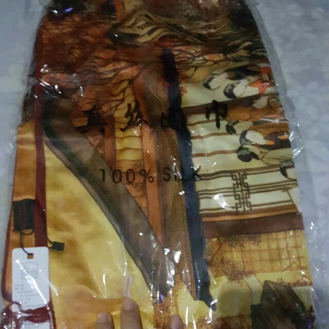 Scarf -100% Silk Bought Directly From China