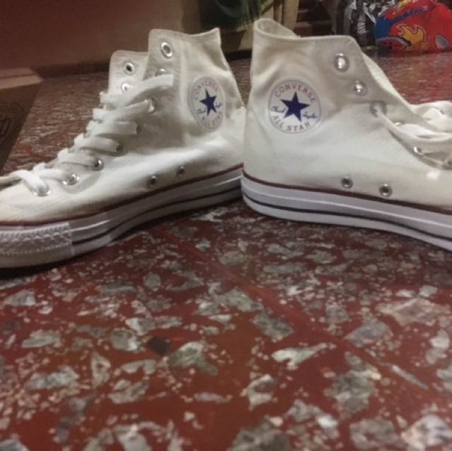 Sepatu Converse Chuck Taylor All Star High Gull White db72d002db