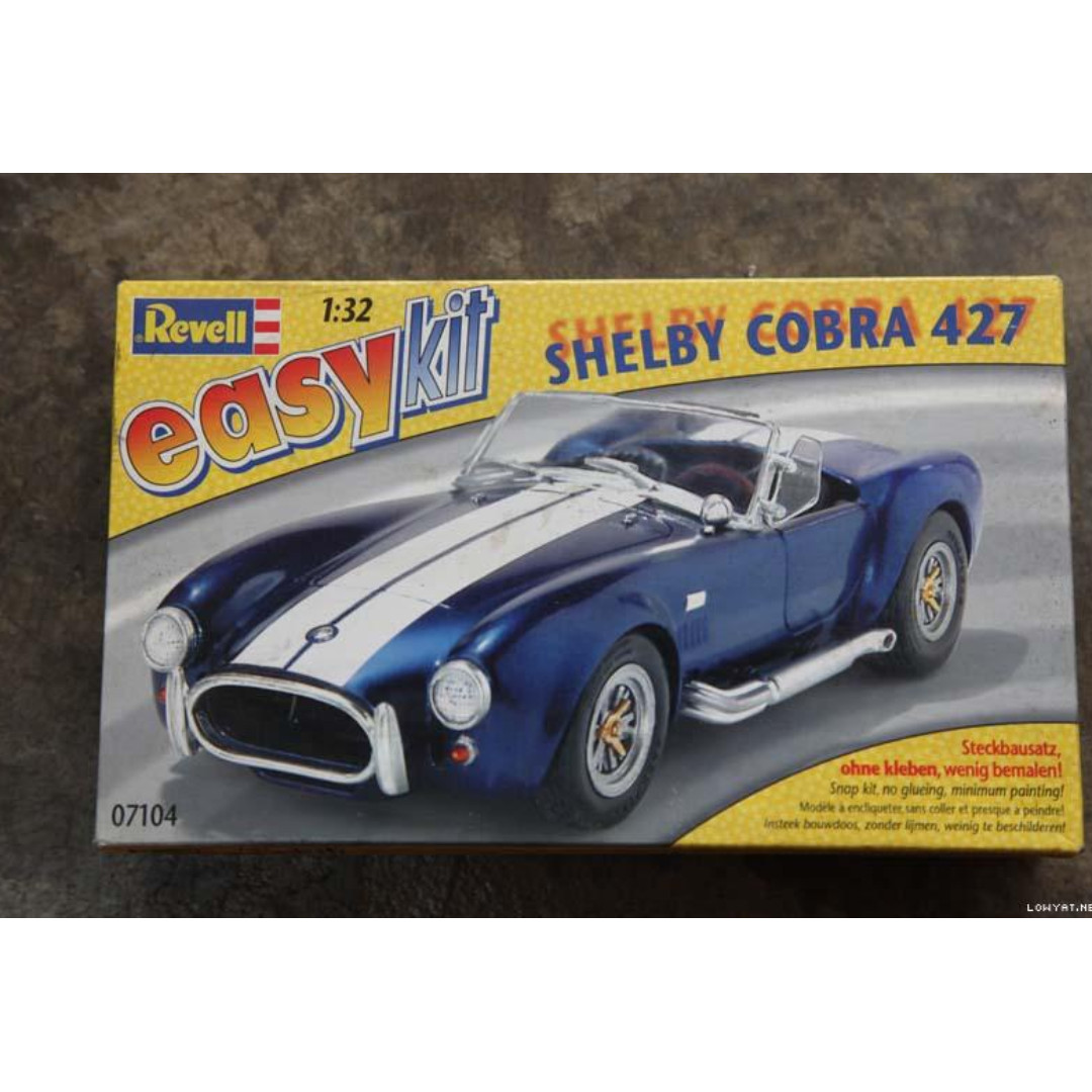 Shelby Cobra 427 Revell 132 Easy Kit Scale Model Tamiya Bandai Kits Ducati Desmosedici Toys Games Other On Carousell