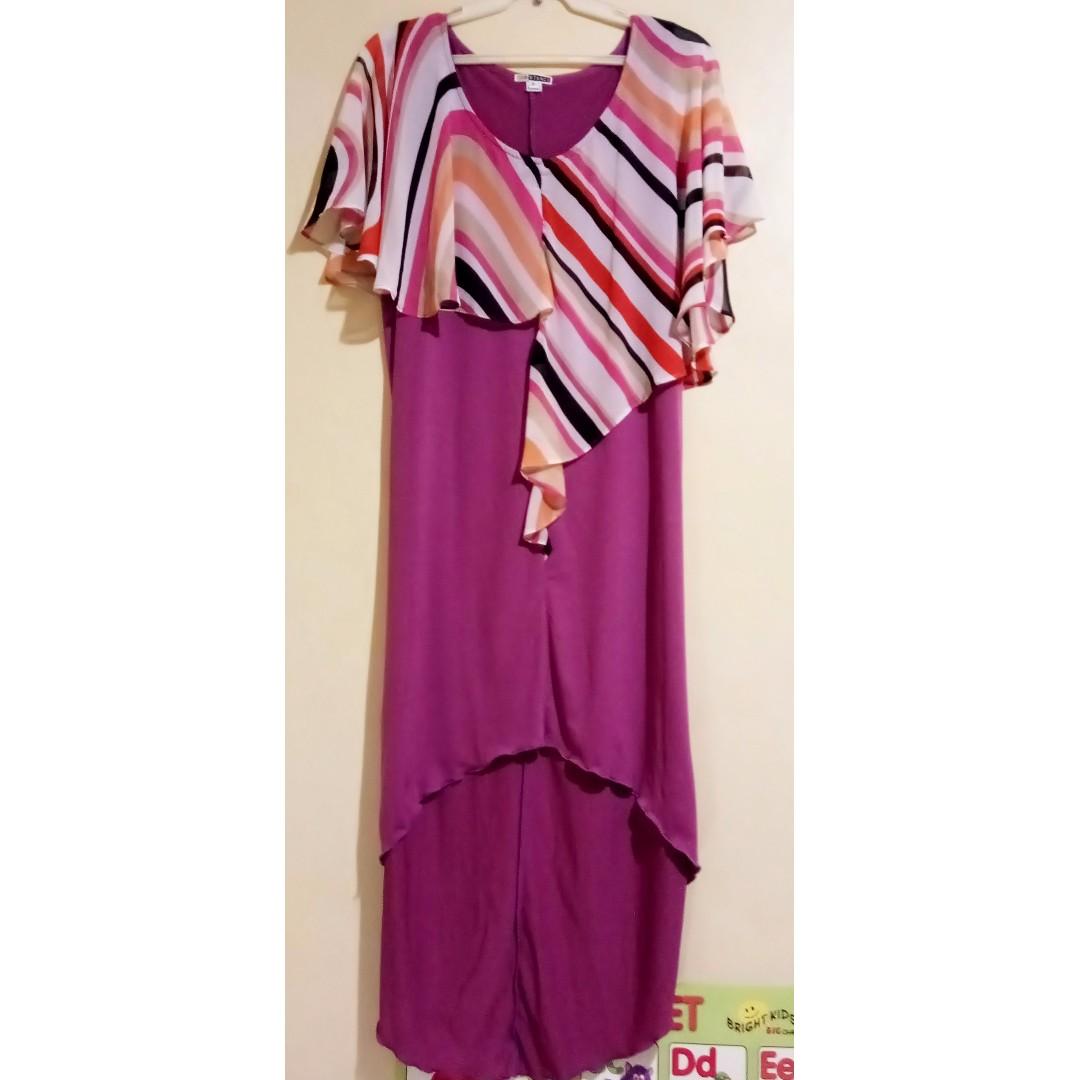 Substance Purple Dress - D008