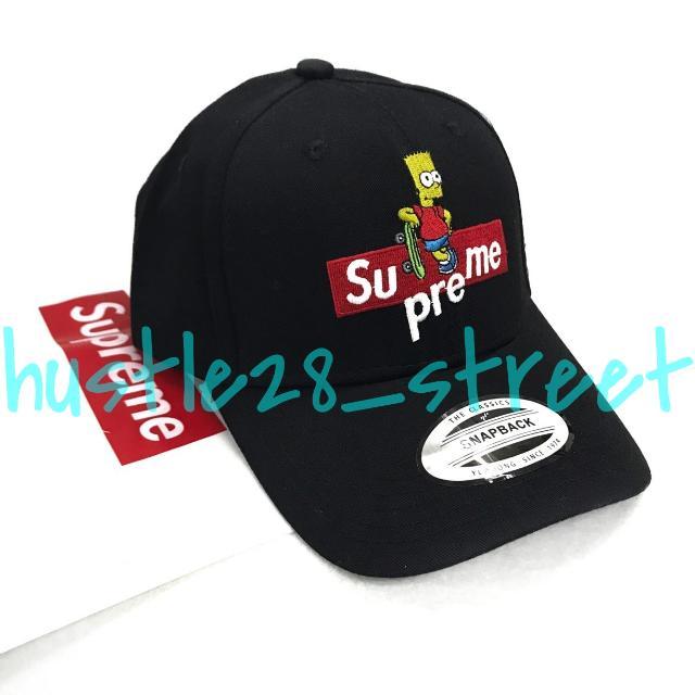 SUPREME BART SIMPSON DAD HAT 9efee4a6939