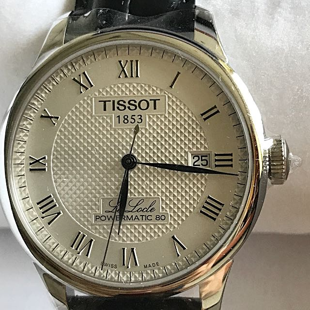 Tissot Le Locle Powermatic 80 Men S Fashion Watches On Carousell