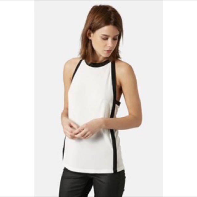 Topshop Halter Style Vest Top