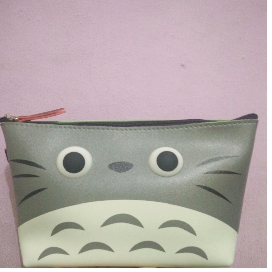 Totoro Pencil/ Makeup Case
