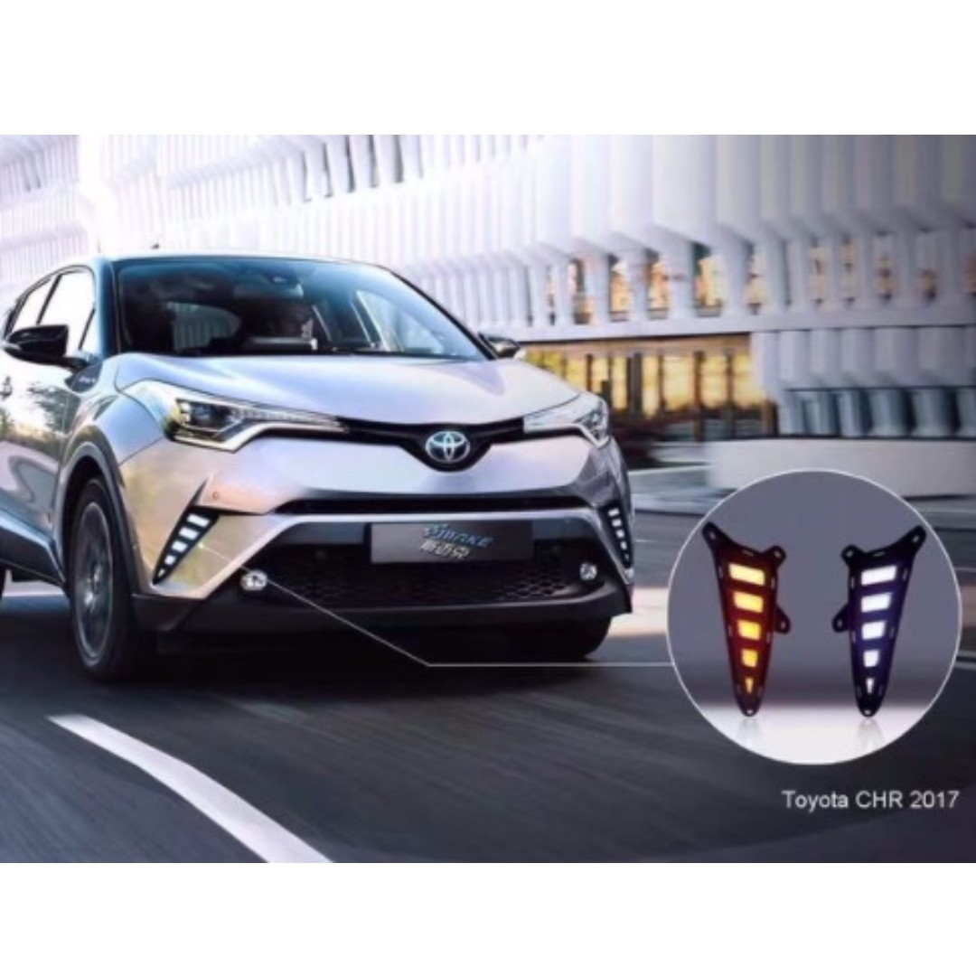 toyota chr modified rear led light fog lamp car accessories on carousell. Black Bedroom Furniture Sets. Home Design Ideas