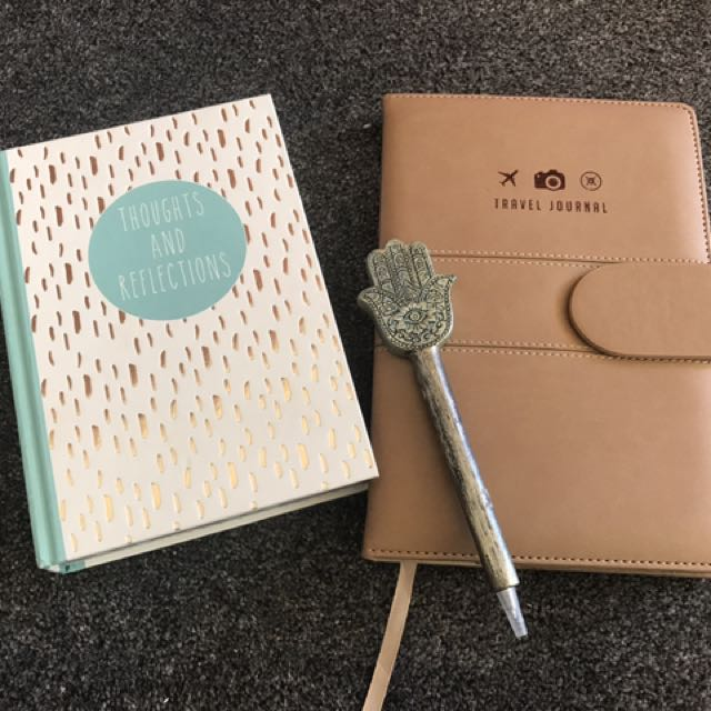 Travel Journal And Thoughts + Reflections Diary