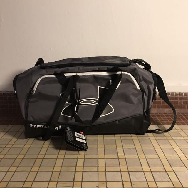 Under Armour Virgin Grey Duffle Bag, Sports, Sports   Games ... 4ae186ad1f
