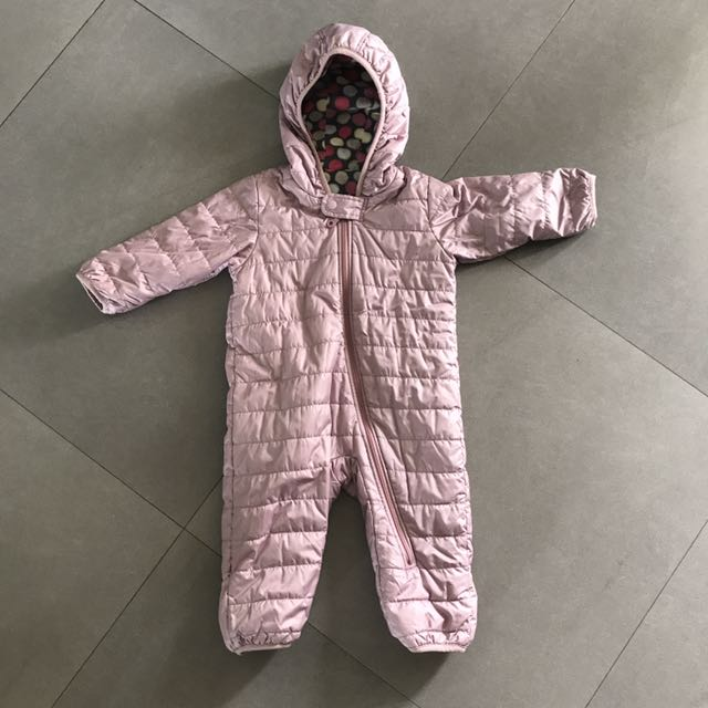 bb5aa6060 Uniqlo Baby Body Warm Lite One-Piece Outfit