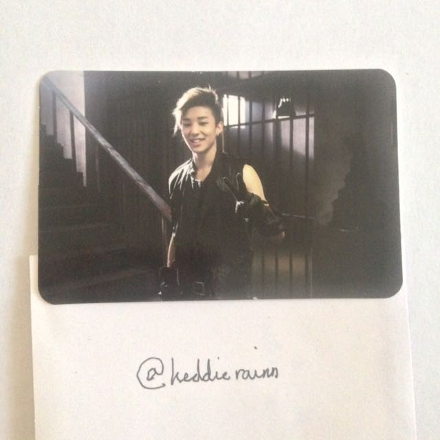 {USA ONLY} BAP: Jongup Official Photocard